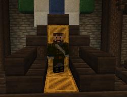 Garfwin throne