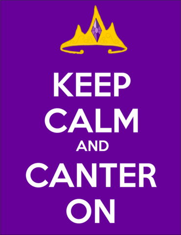 File:Keep Calm and Canter On.png