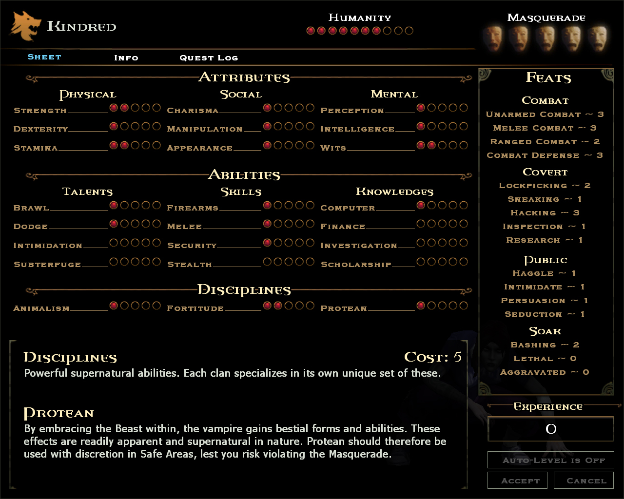 RPG's with STRONG character creation/stat customization