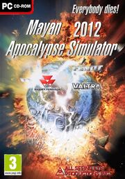 Mayan Apocalypse Simulator 2012 Cover Art