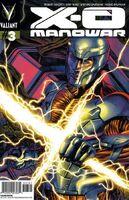 X-O Manowar Vol 3 3 Suayan Variant