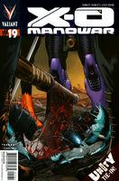X-O Manowar Vol 3 19 Sepulveda Variant