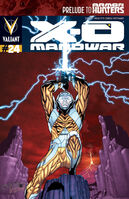 X-O Manowar Vol 3 24 Henry Variant