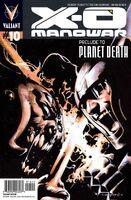 X-O Manowar Vol 3 10 Nord Variant