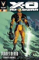 X-O Manowar Vol 3 11 Rivera Variant