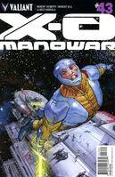 X-O Manowar Vol 3 43 Pastoras Variant