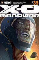X-O Manowar Vol 3 35 Sandoval Variant