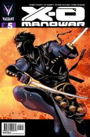 X-O Manowar Vol 3 5 Zircher Variant Ninjak