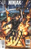 Ninjak Vol 3 1 Sandoval Bam Variant