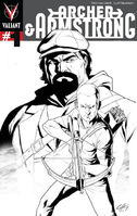 Archer and Armstrong Vol 2 1 3rd Printing