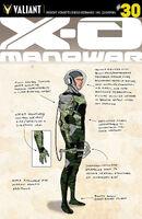 X-O Manowar Vol 3 30 Design Variant