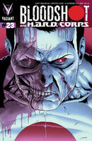 Bloodshot and HARD Corps Vol 1 23 Perez Variant