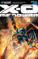 X-O Manowar Vol 3 36 Segovia Variant