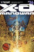 X-O Manowar Vol 3 36 Lee Variant