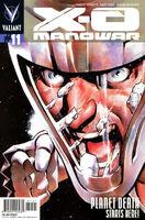 X-O Manowar Vol 3 11 Nord Variant