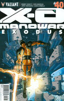 X-O Manowar Vol 3 40 Fowler Variant