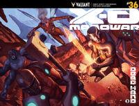 X-O Manowar Vol 3 36 Molina Variant Wraparound