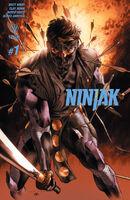 Ninjak Vol 3 1 3rd Printing
