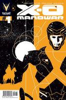 X-O Manowar Vol 3 1 Aja Variant