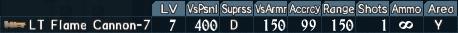 Flamethrower spec 1-7