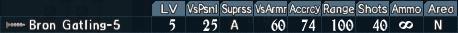 Gatling turret 3-5