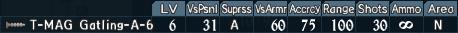 Gatling turret 2-6