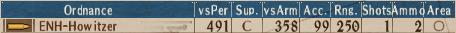 S-Howitzer T1-9 - Stats