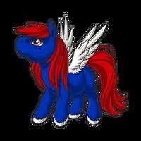 Patriotic Pegasus Baby