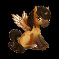 Buckskin Alicorn Baby