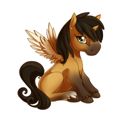 File:Buckskin Alicorn Baby.png