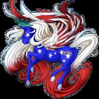 Old Glory Pegasus V2