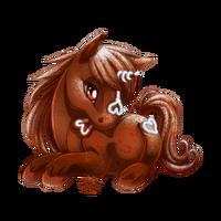 Gingersnap Unicorn Baby