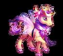 Baby Fairy Princess Heraldic Unicorn