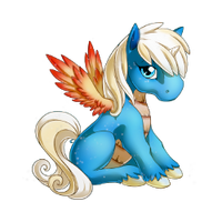 Sand and Sun Alicorn Baby