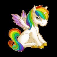 Rainbow Alicorn Baby