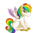 Rainbow Alicorn