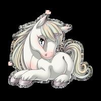 Winter White Unicorn Baby