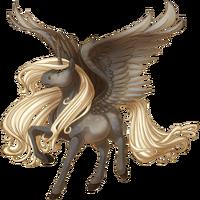 Silver Dapple Alicorn