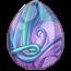 Wisteria Spring Fairy Egg