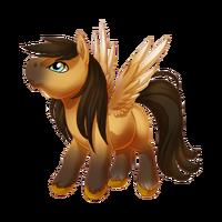 Buckskin Pegasus Baby