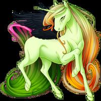 Pistachio Ethercorn Winged