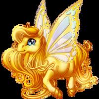 Gold Spring Fairy
