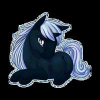 Night Ally Unicorn Baby