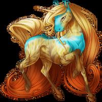 Autumn Skies Unicorn V2