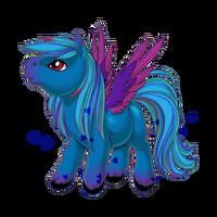 Something Blue Pegasus Baby