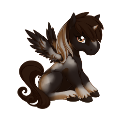 File:Black Pinto Alicorn Baby.png