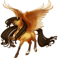 Buckskin Alicorn