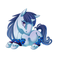 Forget Me Not Unicorn Baby