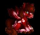 Cranberry Velvet Alicorn