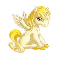 Sunlight Alicorn Baby